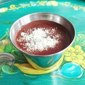 Crema de chocolate light. Elena Somoano