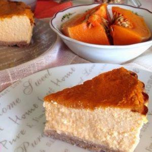 Tarta de queso y calabaza. Elena Somoano